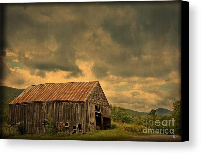 Old Canvas Print featuring the photograph Still Standing by Alana Ranney