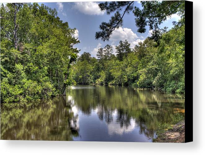 River Canvas Print featuring the photograph Still Waters by David Troxel