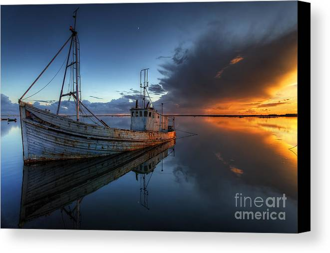 Guiding Light Canvas Print featuring the photograph The Guiding Light by English Landscapes