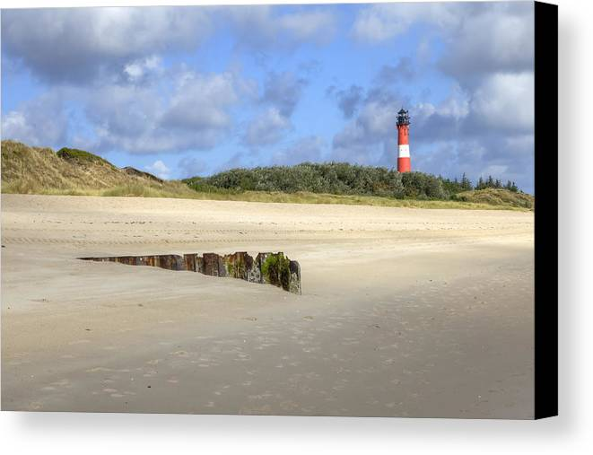 Hornum Canvas Print featuring the photograph Hoernum - Sylt by Joana Kruse