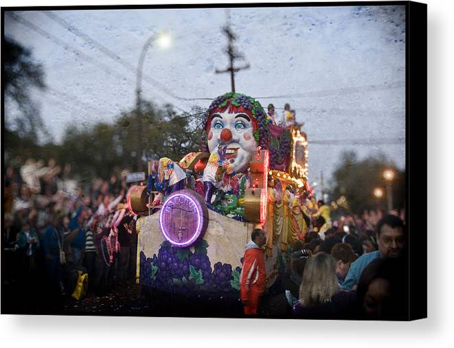 Bacchus Canvas Print featuring the photograph Bacchus In Bokeh by Ray Devlin
