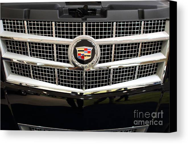 Transportation Canvas Print featuring the photograph Cadillac . 7d9524 by Wingsdomain Art and Photography