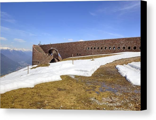 Monte Tamaro Canvas Print featuring the photograph Monte Tamaro by Joana Kruse