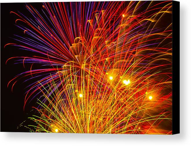 4th Of July Canvas Print featuring the photograph Proud To Be American by Joshua Dwyer