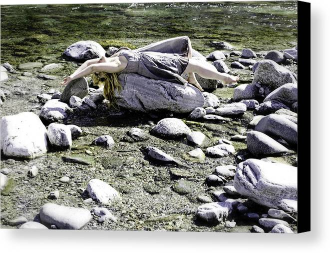 Young Canvas Print featuring the photograph Relax by Joana Kruse