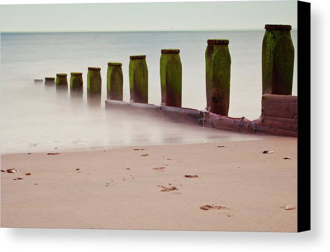 Horizontal Canvas Print featuring the photograph Still Waters by Michaela Gunter