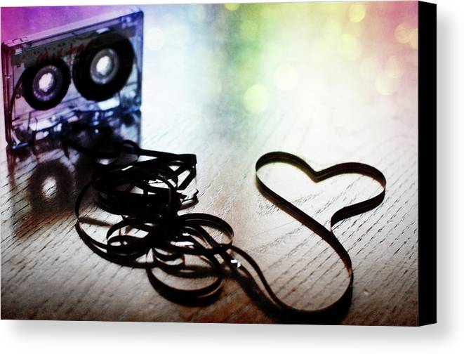 Horizontal Canvas Print featuring the photograph The Perfect Mix Tape by Created by Tafari K. Stevenson-Howard