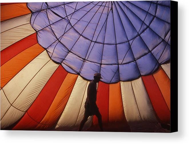 Hot Air Balloon Canvas Print featuring the photograph Hot Air Balloon - 11 by Randy Muir