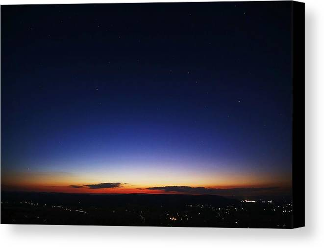 Twilight Canvas Print featuring the photograph Age Is Opportunity by Mitch Cat