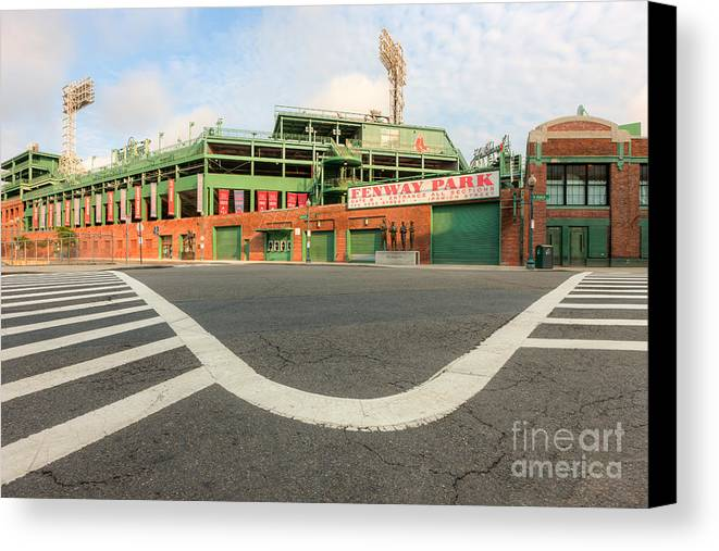 Clarence Holmes Canvas Print featuring the photograph Fenway Park IIi by Clarence Holmes