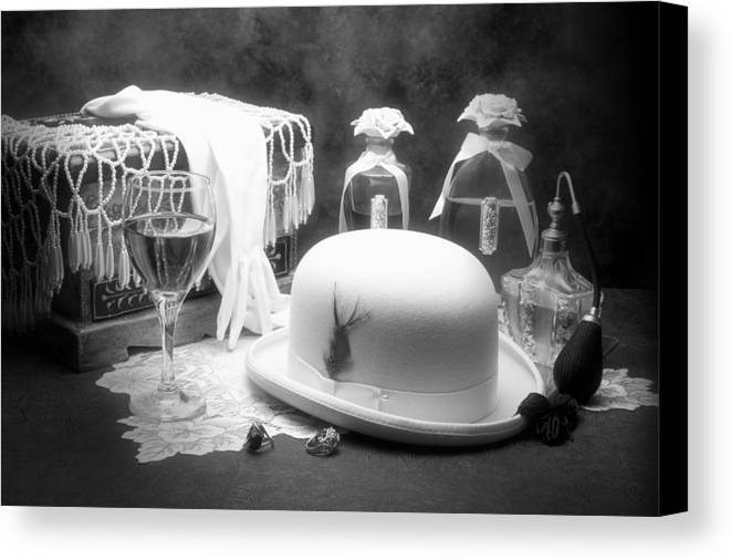 Hat Canvas Print featuring the photograph Revelry by Tom Mc Nemar