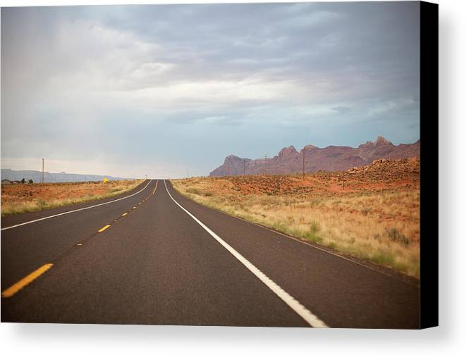 Horizontal Canvas Print featuring the photograph Road by Elena Fantini