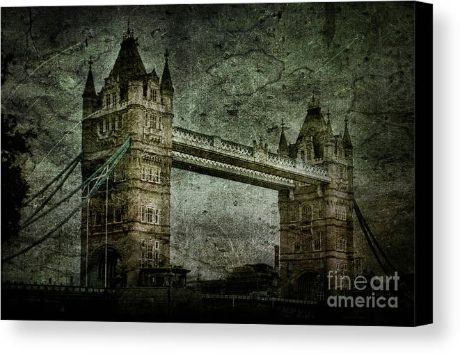 Tower Canvas Print featuring the photograph Former Sanctions by Andrew Paranavitana