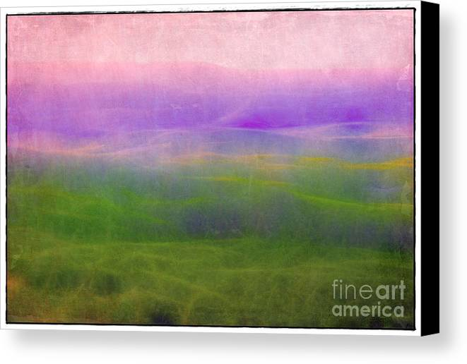 Arkansas Canvas Print featuring the photograph The Distant Hills by Judi Bagwell