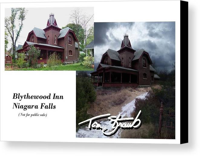 Blythewood Canvas Print featuring the photograph Blythewood Inn by Tom Straub