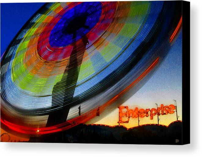Enterprise Canvas Print featuring the painting Enterprise by David Lee Thompson