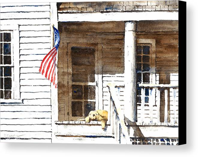 4th Of July Canvas Print featuring the painting The 5th Of July by William Beaupre