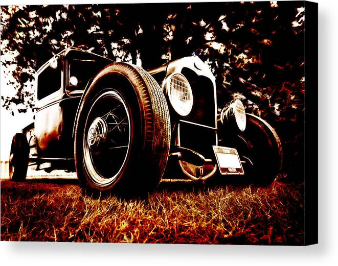 Hot Rod Canvas Print featuring the photograph 29 Ford Pickup by Phil 'motography' Clark