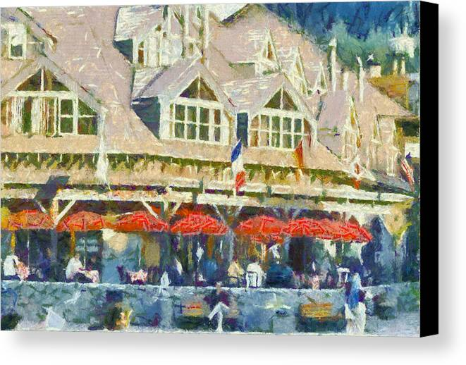 Whistler Canvas Print featuring the photograph Whistler One by Dale Stillman