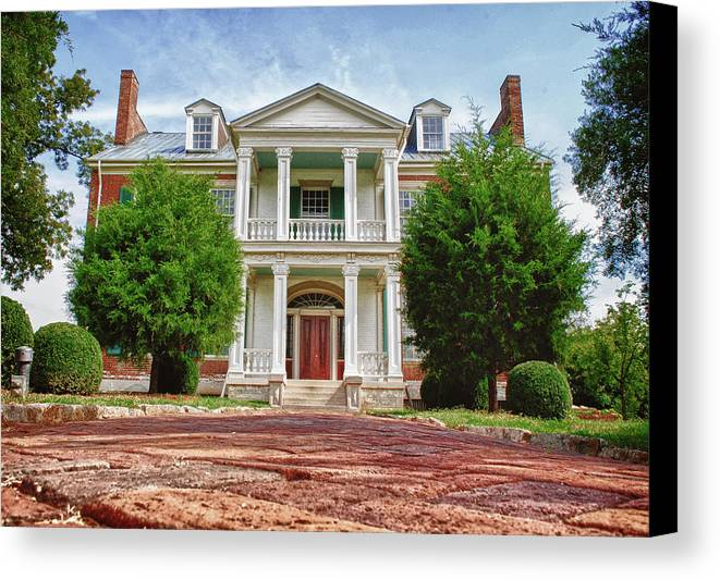 Carnton Plantation Canvas Print featuring the photograph Carnton Plantation by Pamela Parton