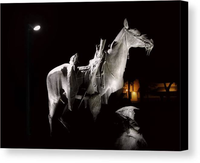 Prescott Canvas Print featuring the photograph Cowboy At Rest by Christine Till