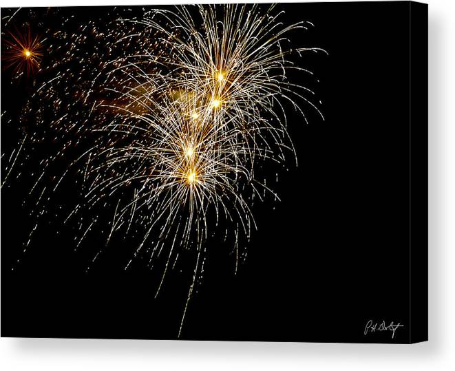 July 4th Canvas Print featuring the photograph Northern Star by Phill Doherty