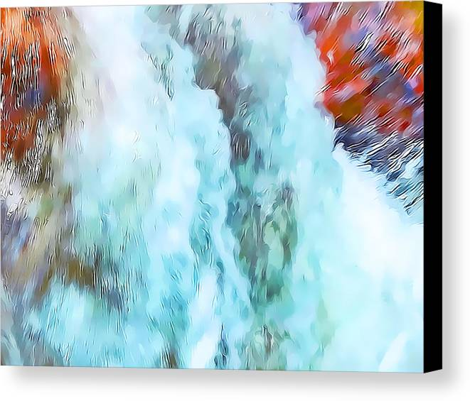 Abstract Canvas Print featuring the photograph Surge Of Life by Terril Heilman