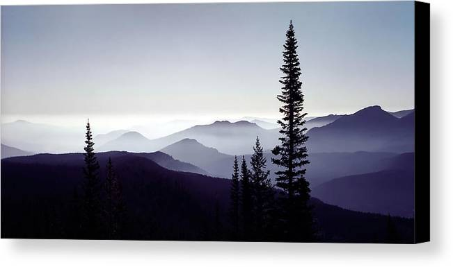 3scape Photos Canvas Print featuring the photograph Colorado Haze by Adam Romanowicz