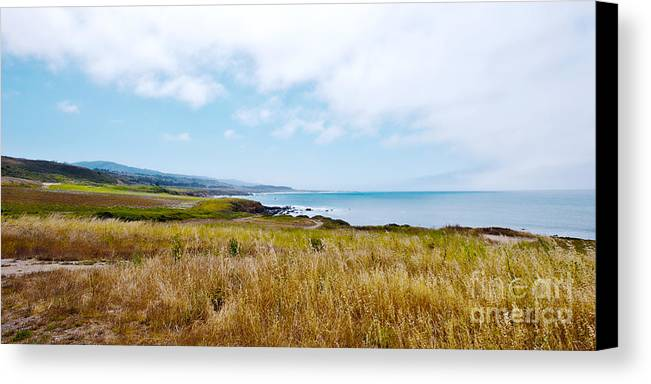 California Pacific Coast Highway Canvas Print featuring the photograph California Pacific Coast Highway - Forever Summer by Artist and Photographer Laura Wrede