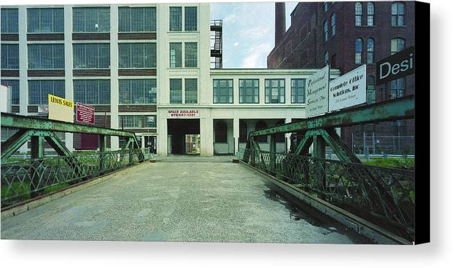 Merrimack River Canvas Print featuring the photograph Studios For Rent by Jan Faul