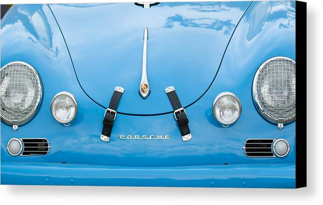 1960 Volkswagen Porsche 356 Carrera Gs Gt Replica Canvas Print featuring the photograph 1960 Volkswagen Porsche 356 Carrera Gs Gt Replica by Jill Reger
