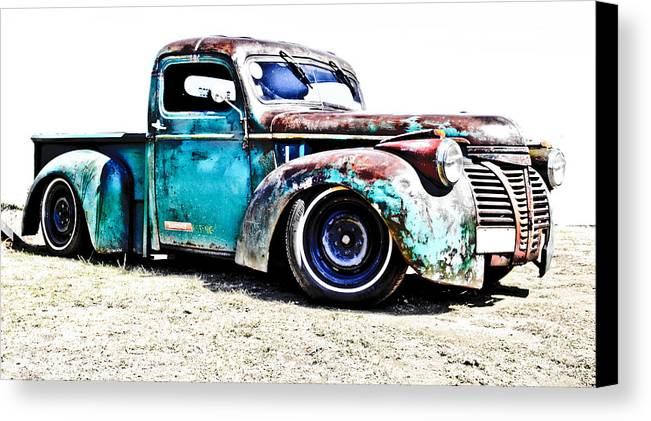 Chev Pickup Canvas Print featuring the photograph Chevrolet Pickup by Phil 'motography' Clark