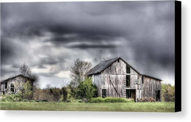 Ominous Canvas Print featuring the photograph Ominous by JC Findley