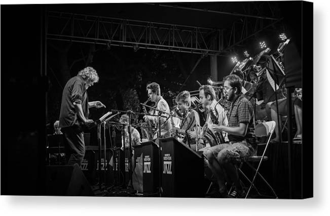 Jazz Canvas Print featuring the photograph Play It Right by Pooja Gulati