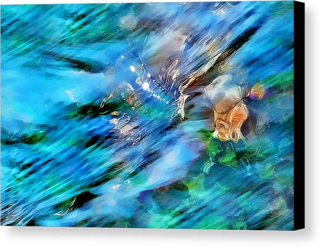 Refracted Light Canvas Print featuring the photograph Misty Waters 2 by Terril Heilman