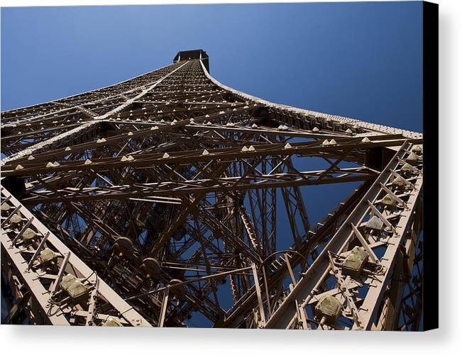 Paris Canvas Print featuring the photograph Tour Eiffel 7 by Art Ferrier