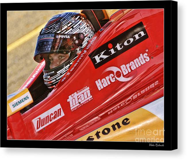 E.j. Viso Canvas Print featuring the photograph E.j. Viso by Blake Richards