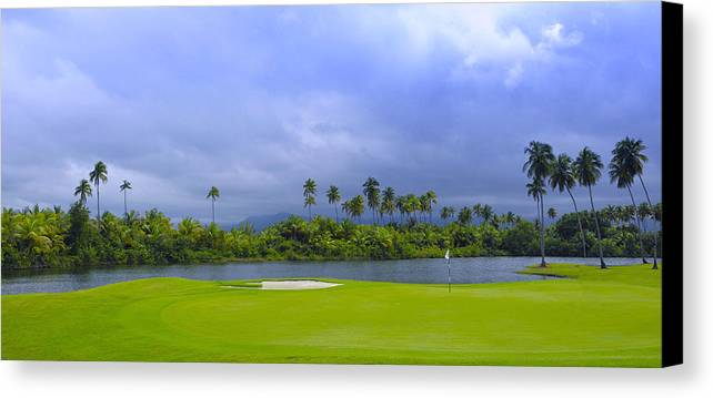 Golf Canvas Print featuring the photograph Golfer's Paradise by Stephen Anderson