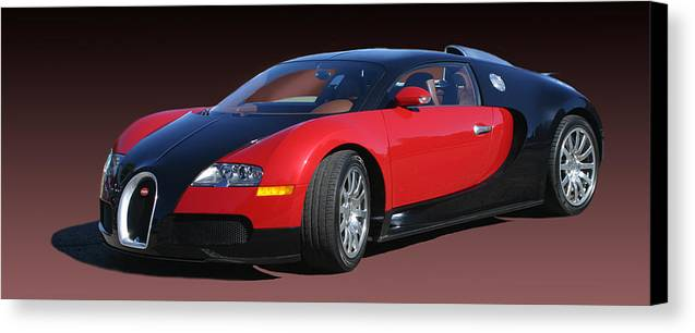 2010 bugatti veyron e b sixteen canvas print canvas art by jack pumphrey. Black Bedroom Furniture Sets. Home Design Ideas