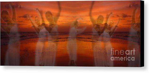 Dance Canvas Print featuring the photograph Eternal Dance by Jeff Breiman