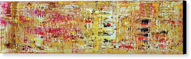 Acrylic Canvas Print featuring the painting Sunny Side Of Life by Martina Niederhauser