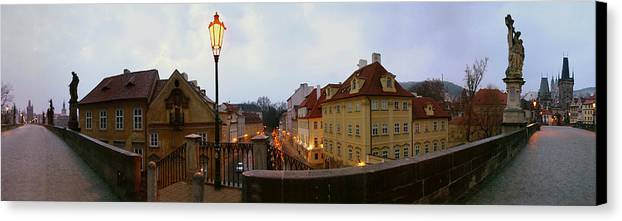 Charles Bridge Photographs Canvas Print featuring the photograph Charles Bridge 180 by Gary Lobdell