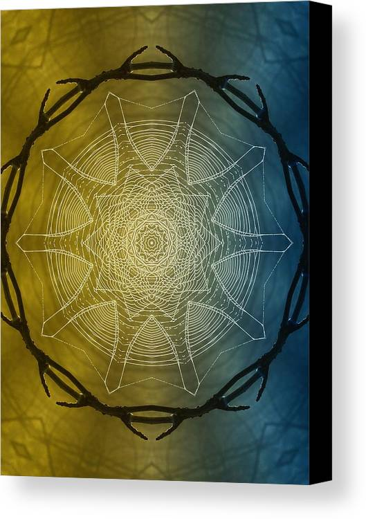 Dreamcatcher Canvas Print featuring the photograph Beyond Time by Tom Druin