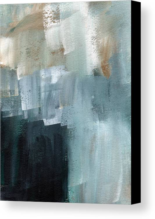 Abstract Art Canvas Print featuring the painting Days Like This - Abstract Painting by Linda Woods