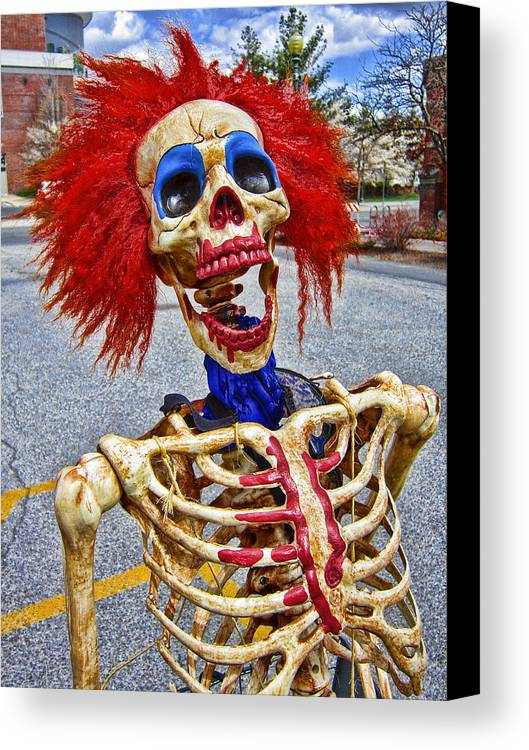 Stress Canvas Print featuring the photograph Doctor I Am A Bit Stressed Lately by Daniel Hagerman