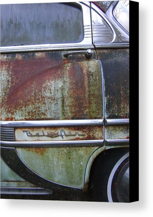 Guy Ricketts Photography Canvas Print featuring the photograph Fresh Prints On Bel Air by Guy Ricketts