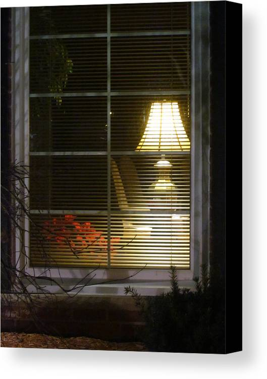 Guy Ricketts Photography Canvas Print featuring the photograph Waiting At The Window by Guy Ricketts