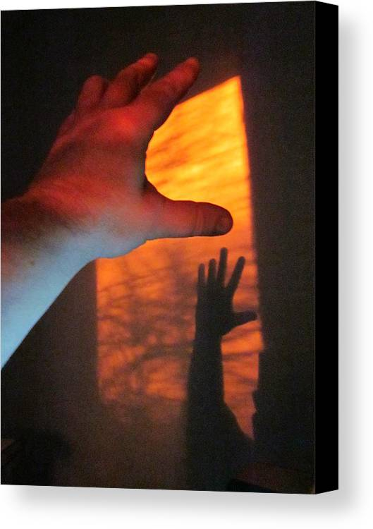 Guy Ricketts Photography Canvas Print featuring the photograph Forever Living Hands by Guy Ricketts
