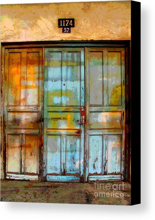 Darian Day Canvas Print featuring the photograph Forgotten Trio 1 By Darian Day by Mexicolors Art Photography