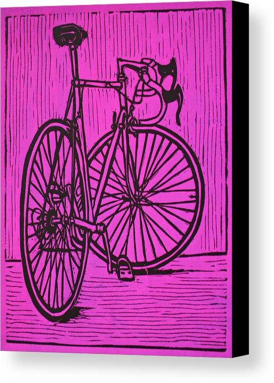 Bike Canvas Print featuring the drawing Bike 4 by William Cauthern